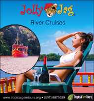 Jolly Jag River Cruises by Tropical Gem Tours.