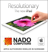 Nado Computers, your Apple Authorized Reseller in Suriname.